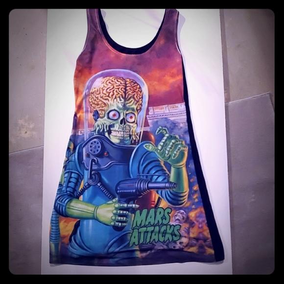 2/50$ Mars Attacks Dress